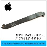 "CABLE DE AIRPORT CARD WIRELESS BLUETOOTH APPLE MACBOOK PRO 13"" UNIBODY A1278 