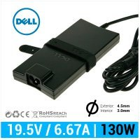 CARGADOR DELL ORIGINAL | 19.5V / 6.67A | 4.5 x 3.0mm | 130W