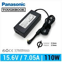 CARGADOR PANASONIC COMPATIBLE | 15.6V / 7.05A | 5.5 x 2.5mm | 110W