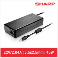 CARGADOR SHARP COMPATIBLE | 22V / 2.04A | 5.5 x 2.5mm | 45W