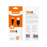 CABLE USB 2.0 TIPO C | 1M | NEGRO