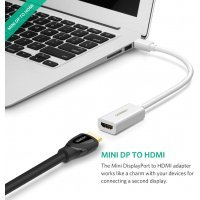 ADAPTADOR THUNDERBOLT MINI DISPLAYPORT A HDMI